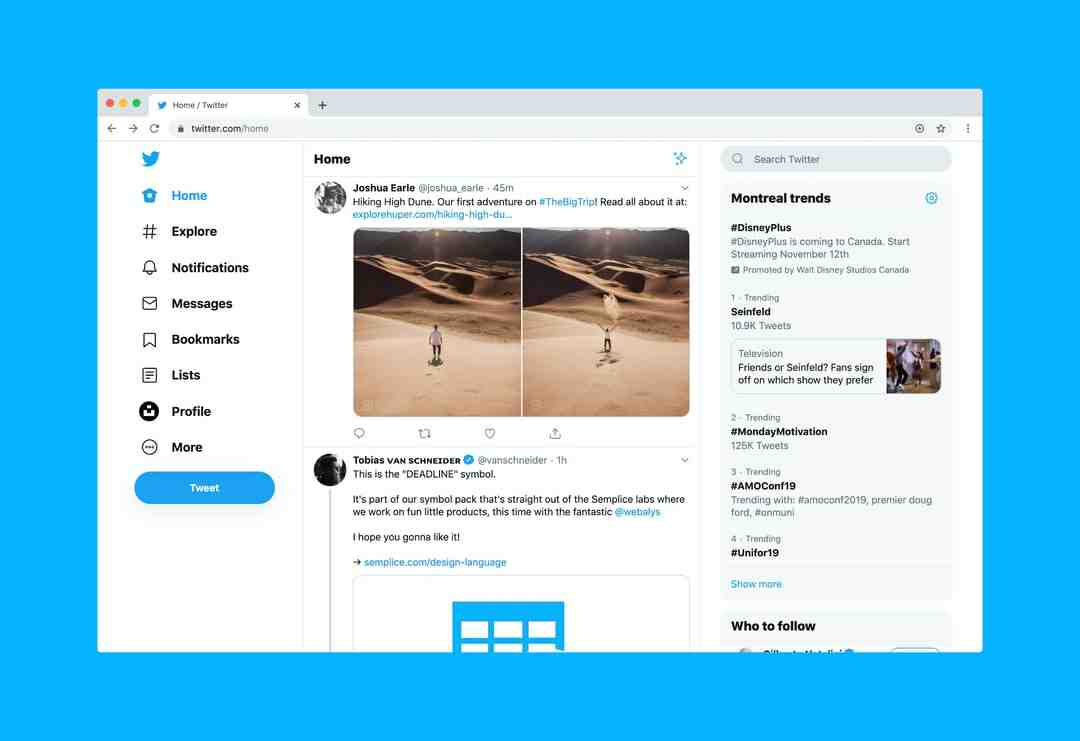 Does Twitter track what profiles you look at?